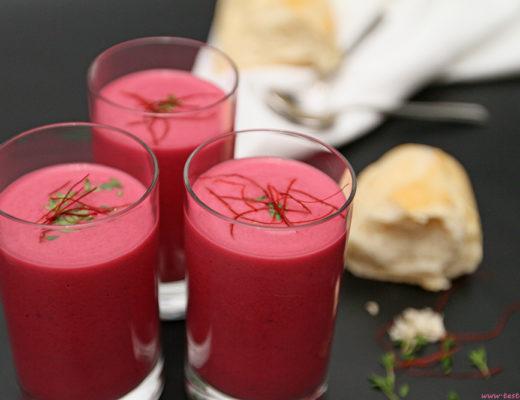 Testesser - Rote Rüben Suppe