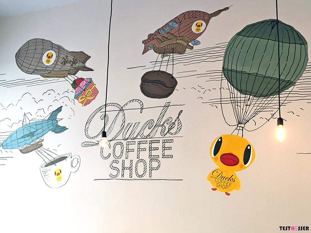 Ducks Coffee Shop | Testesser
