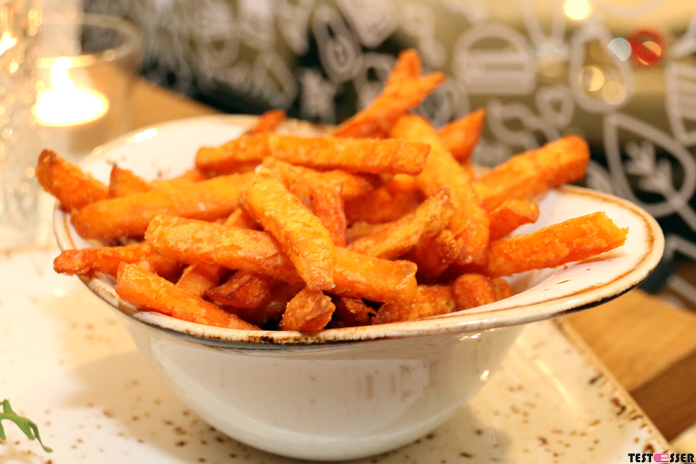 Süßkartoffel Pommes | Freigeist Graz