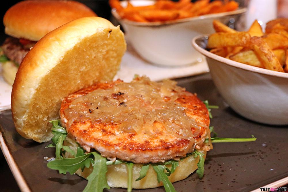 Salmon Dream Burger | Freigeist Graz