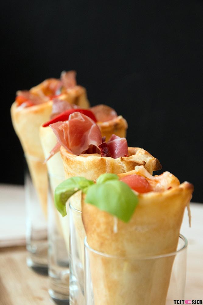 Pizza Hütchen / Pizza Cones