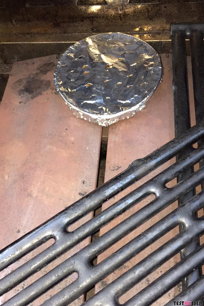 Geräuchertes Steak vom Grill